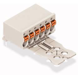WAGO ohišje vtičnice za tiskano vezje Skupno število polov 6 Osnovna mreža: 3.50 mm 2091-1356/000-5000 50 KOS