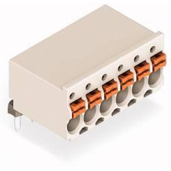 WAGO ohišje vtičnice za tiskano vezje Skupno število polov 6 Osnovna mreža: 3.50 mm 2091-1376/200-000 100 KOS