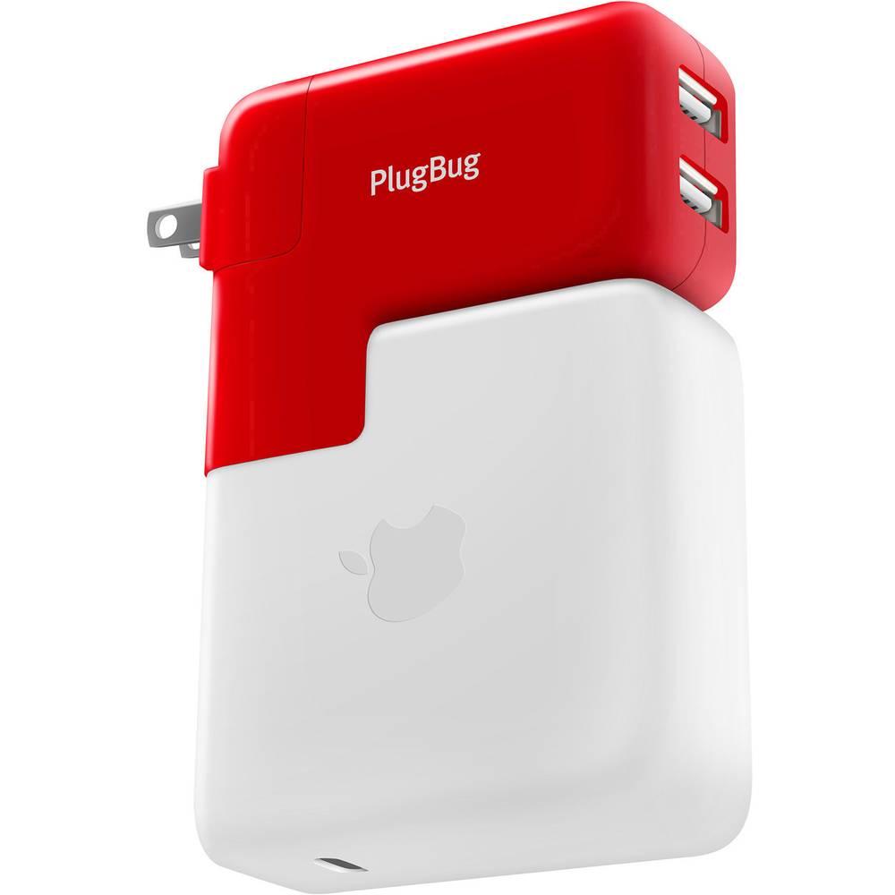USB napajalnik Twelve South PlugBug Duo 12-1706 Vtičnica USB Z adapterjem za VB, Z adapterjem za ZDA, Z adapterjem za Avstralijo