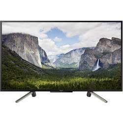 Sony BRAVIA KDL43WF665 LED-TV 108 cm 43 palac Energetska učink. A+ (A++ - E) dvb-t2, dvb-c, dvb-s, full hd, smart tv, WLAN, pvr