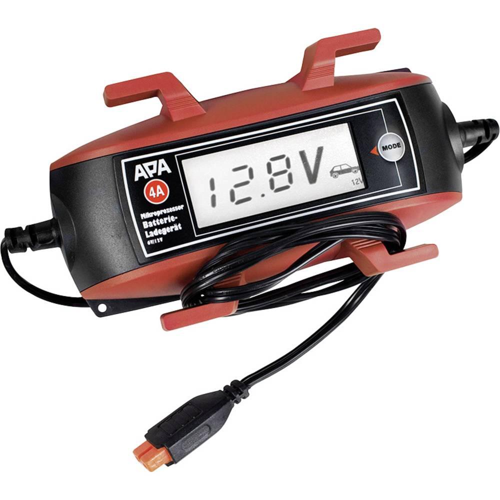 APA 16618 avtomatski polniknik 6 V, 12 V 2 A 2 A, 4 A