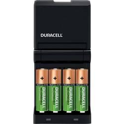 Punjač okruglih stanica Nikalj-metal-hidridni Uklj. akumulator Duracell CEF14 Micro (AAA), Mignon (AA)