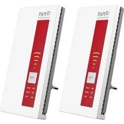 AVM 2er-Set FRITZ!WLAN Repeater 1750E WLAN ojačevalnik 1.75 GBit/s 2.4 GHz, 5 GHz