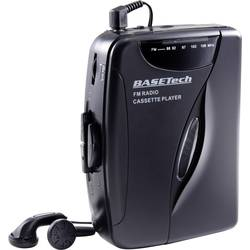 prijenosni kasetofon Basetech KW-118C crna