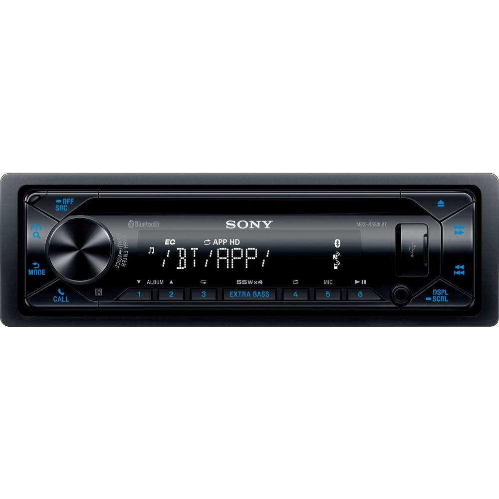 Sony MEX-N4300BT avtoradio Bluetooth® komplet za prostoročno telefoniranje