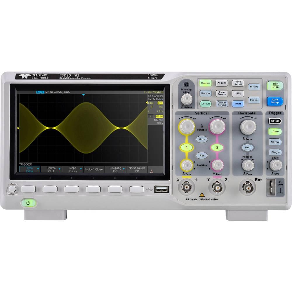 Teledyne LeCroy T3DSO1202A Digitalni osciloskop 200 MHz 2 GSa/s 28 Mpts
