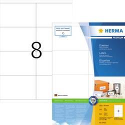 Herma 4426 Etikete 105 x 70 mm Papir Bijela 800 ST Trajno Univerzalne naljepnice, Naljepnice za dostave Tinta, Laser, Kopija