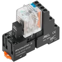relejni modul 10 St. Weidmüller DRMKIT 24VDC 4CO LD/PB Nazivni napon: 24 V/DC Prebacivanje struje (maks.): 5 A 4 prebacivanje