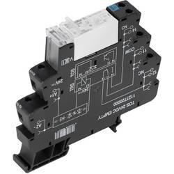 relejni modul 10 St. Weidmüller TRS 24VDC 1NO HCP Nazivni napon: 24 V/DC Prebacivanje struje (maks.): 16 A 1 zatvarač