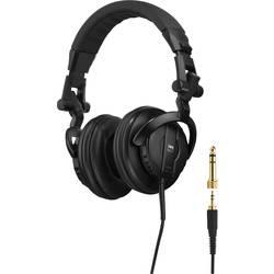 DJ Naglavne slušalice IMG STAGELINE MD-6000 Preko ušiju Sklopive Crna