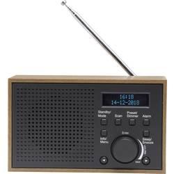 Denver DAB-46 namizni radio DAB+, UKW siva