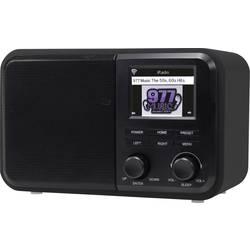 Denver IR-130 spletni namizni radio internet DLNA, WLAN, internetni radio podpira DLNA črna