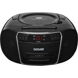 Denver TCP-40 cd radio UKW aux, cd, kaseta črna