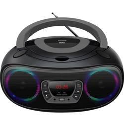 Denver TCL-212BT cd radio UKW aux, cd, USB, Bluetooth razpoloženjska osvetlitev siva