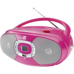 Dual P 390 cd radio ukw, am cd, usb roza