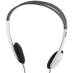 HiFi Naglavne slušalke Vivanco SR3031 On Ear Črno-srebrna