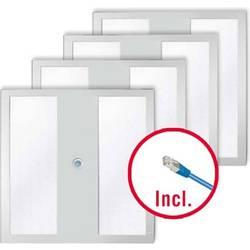 LED stropna svetilka LED LED, fiksno vgrajena EEK: LED (A++ - E) ESYLUX PNLNOV11 #EQ10111723 EQ10111723 Bela