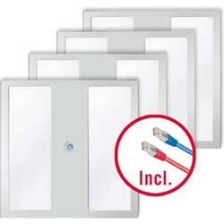 LED stropna svetilka LED LED, fiksno vgrajena EEK: LED (A++ - E) ESYLUX PNLNOV11 #EQ10110580 EQ10110580 Bela