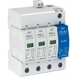 OBO Bettermann 5094931 Odvodnik prenapetosti OBO SurgeControll V 10-C / 3 + NPE + FS 3 + NPE tip 2 + 3 - 1 m IP20