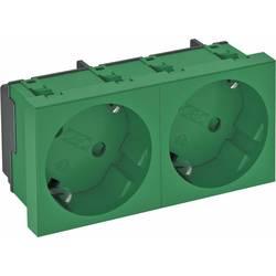Vložek za naprave Vtičnica (Š x V x G) 90 x 45 x 42 mm OBO Bettermann 6120106 1 KOS Zelena