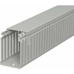 OBO Bettermann 6178324 Kanalski sistem ožičenja (D x Š x V) 2000 x 50 x 75 mm 1 KOS Kamnito siva