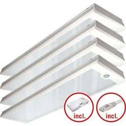 LED stropna svetilka LED LED, fiksno vgrajena EEK: LED (A++ - E) ESYLUX PNLCEL14 #EQ10127557 EQ10127557 Bela