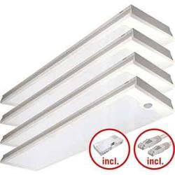LED stropna svetilka LED LED, fiksno vgrajena EEK: LED (A++ - E) ESYLUX PNLCEL14 #EQ10129506 EQ10129506 Bela