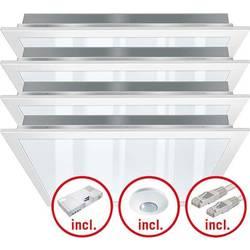 Komplet LED-svetil LED LED, fiksno vgrajena EEK: LED (A++ - E) ESYLUX PNLCEL11 #EQ10122644 EQ10122644 Bela