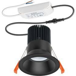 ESYLUX IDLSTI25 #EO10304057 EO10304057 LED stropna svetilka EEK: LED (A++ - E) Bela Črna
