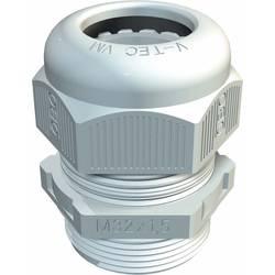 Kabelska uvodnica 1,5 mm Plastika, PA Svijetlosiva OBO Bettermann V-TEC VM12 LGR 1 ST