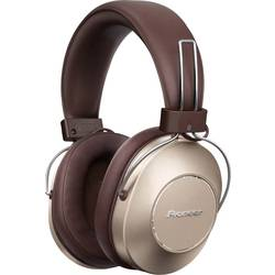 Pioneer SE-MS9BN Bluetooth® hifi over ear slušalke over ear avdio z visoko ločljivostjo, NFC, odpravljanje šumov zlata
