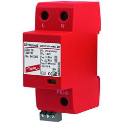 Kombinirani odvodnik Zaštita od prenapona za: Razdjelni ormar DEHN DEHNshield DSH TN 255 Typ 1+2 941205 25 kA