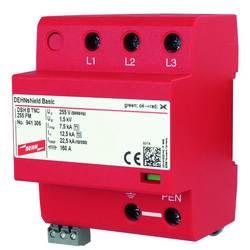 Kombinirani odvodnik Zaštita od prenapona za: Razdjelni ormar DEHN DEHNshield DSH B TNC 255 FM TN-C 941306 22.5 kA