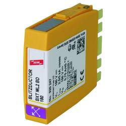 Kombinirani odvodnik Zaštita od prenapona za: Razdjelni ormar DEHN 920247 BXT ML2 BD180 920247 20 kA