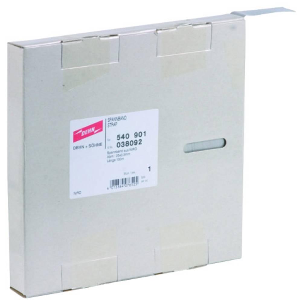 Pričvrsni element za prenaponsku zaštitu DEHN 540901 NIRO 25x0,3mm Länge 100 Meter 540901