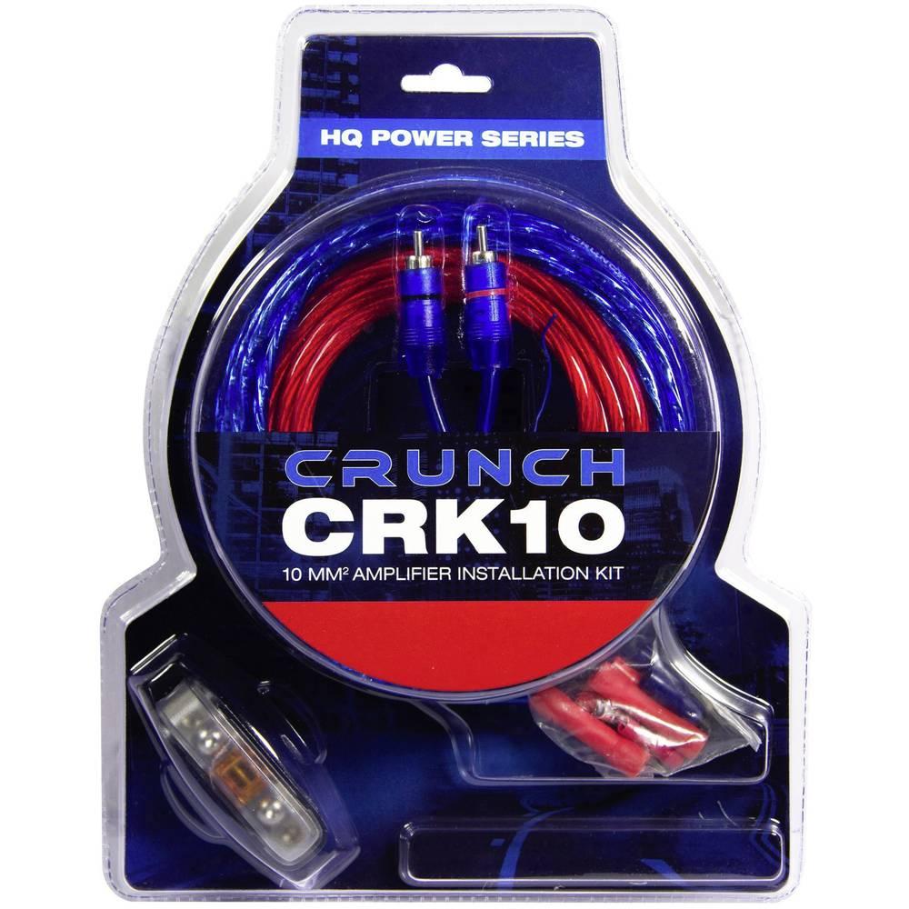Avto HiFi priključek za ojačevalnik moči-komplet 10 mm² Crunch CRK10