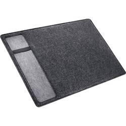 Sigel plus casualstyle SA302 podlaga za pisanje iz klobučevine antracitna, siva (Š x V) 600 mm x 400 mm