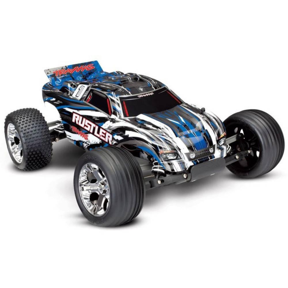 Traxxas Rustler s ščetkami 1:10 RC Modeli avtomobilov Elektro Truggy Zadnji pogon (2WD) RtR 2,4 GHz