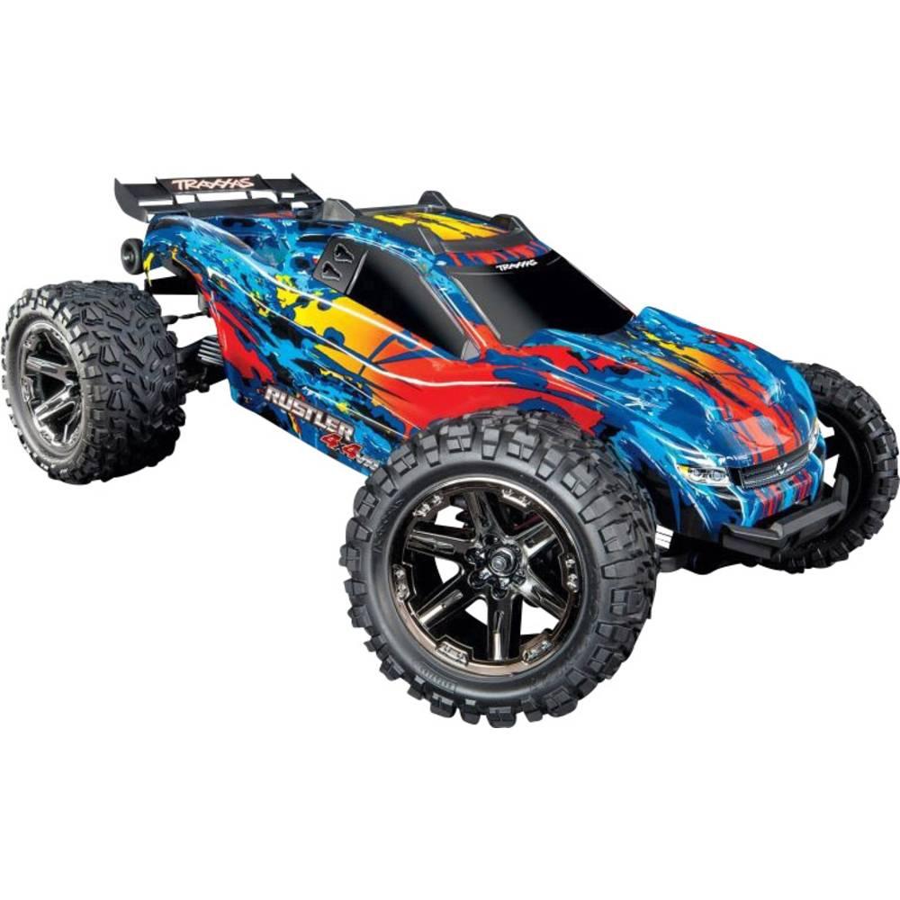 Traxxas Rustler 4x4 VXL brez ščetk 1:10 RC Modeli avtomobilov Elektro Truggy Pogon na vsa kolesa (4WD) RtR 2,4 GHz
