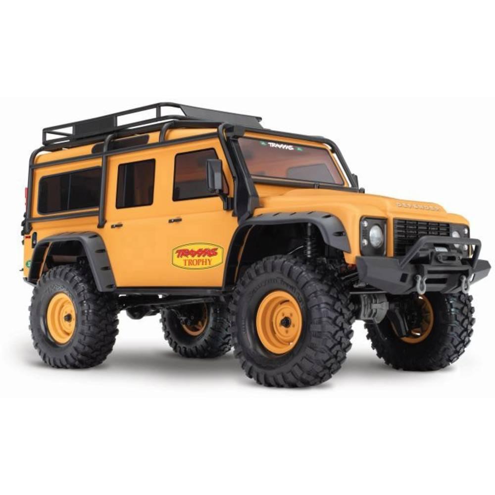 Traxxas Landrover Defender s ščetkami RC Modeli avtomobilov Elektro Crawler Pogon na vsa kolesa (4WD) RtR 2,4 GHz