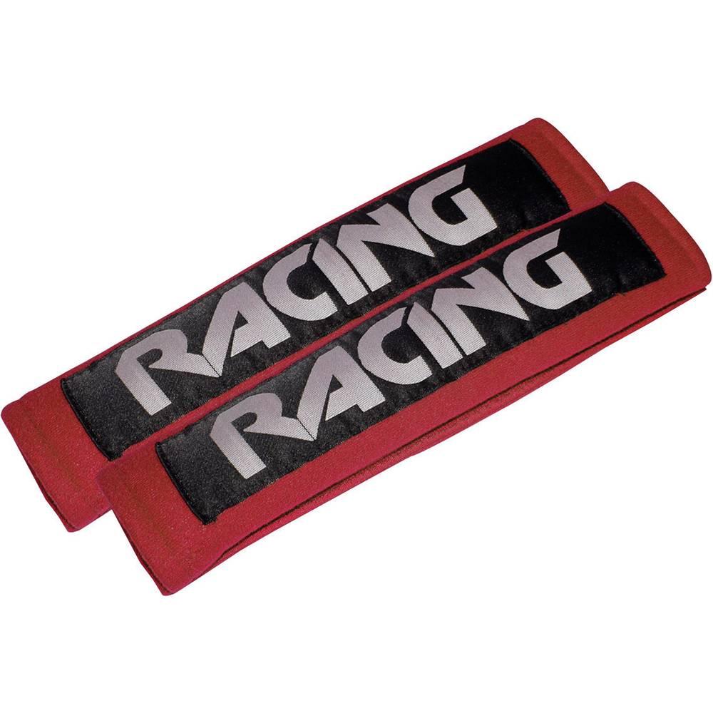 Eufab 28208 Racing red Ščitnik za varnostni pas 22 mm x 7 cm x 3 cm