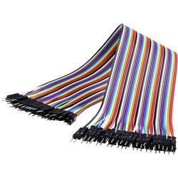 MAKERFACTORY JKMM40 jumper kabel Raspberry Pi, Banana Pi, Arduino [40x žičani most muški kontakt - 40x žičani most muški kontakt