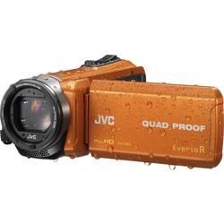 JVC GZ-R445DEU videokamera 7.6 cm 2.99 palec 2.5 Mio. pikslov Zoom (optični): 40 x oranžna