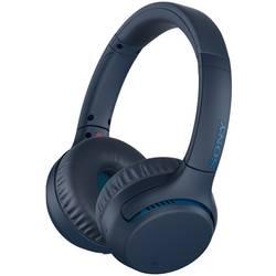 Bluetooth® HiFi Naglavne slušalice Sony WH-XB700 Preko ušiju Slušalice s mikrofonom, NFC Plava boja