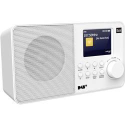 DAB+ Prenosni radio Dual DAB 18 C DAB+, UKW Bela
