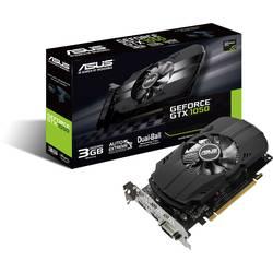 Asus Grafična kartica Nvidia GeForce GTX1050 Phoenix 3 GB GDDR5-RAM PCIe x16 HDMI, DVI, Display Port
