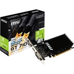 MSI Grafična kartica Nvidia GeForce GT710 1 GB DDR3-RAM PCIe x16 HDMI, DVI, VGA