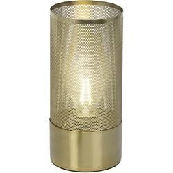namizna svetilka led E27 40 W Brilliant Gracian 98940/18 medenina (ščetkana)