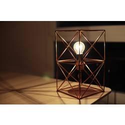 Namizna svetilka LED E27 40 W EEK: odvisno od svetilke (A++ - E) Brilliant Ingo 98939/29 Bakrena
