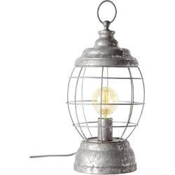 Namizna svetilka LED E-27 60 W EEK: odvisno od svetilke (A++ - E) Brilliant Carriage 99017/43 Cink (antična)